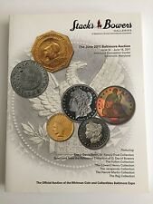 Stack's Bowers Auction Catalog June 2011 Baltimore Maryland Whitman Coin Collect