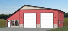 50x48 2 RV Garage - 1 Bedr 1 Bath - 2,374 sq ft - PDF Floor Plan - Model 1B