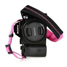 Handmade Leather Camera Shoulder Neck Strap For Leica Q7M8 Fuji Multicolor D2I3