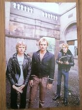 POLICE (STING) 'in the courtyard' magazine PHOTO/Poster/clipping 11x8 inches