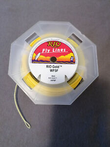 Fliegenschnur Rio Fly Lines, Rio Gold, WF5F,neu, auf Originalrolle