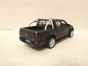 VW Volkswagen Amarok 2010-2016 Double Cab Pickup Truck 1/43 Matte Black Limited