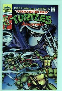 Teenage Mutant Ninja Turtles Adventures 1 - Hot Book - High Grade 9.4 NM