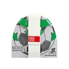 Universeller Ballhalter Grün/Weiß - Fahrrad schnell montiert - ideales Geschenk