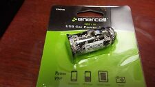 Enercell Usb Car Power Charger Adapter 1A 5VDC.