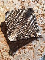 Pot Holders/Hot Pads 100% Cotton Handmade Crocheted Set Of 2