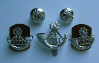 British Army King's Shropshire Light Infantry Cap/Collar Badges & Buttons