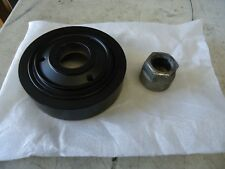 NEW YAMAHA OUTBOARD 76 DEGREE V6 CRANKSHAFT BALANCER AND NUT  61A-11586-01-00