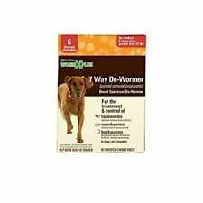 Sentry HC WormX Plus Flavored De-Wormer Chewables for Dogs, 6CT