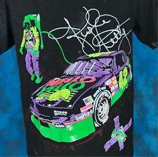 vintage 90s KYLE PETTY MELLO YELLO NASCAR RACING ALL-OVER PRINT T-Shirt MEDIUM