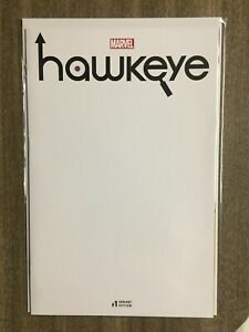 Hawkeye #1 (2017) Blank Variant NM