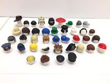 40 NEW LEGO Minifigure Male Mens Boys Hair & Hats / 40 Different Types