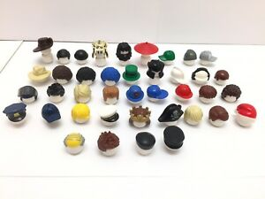 LEGO - 39 Hair & Hats NEW Minifigure Male Mens Boys / 39 Different Types