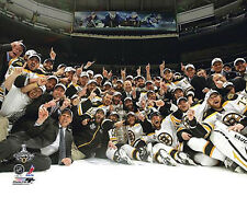 Boston Bruins 2011 Stanley Cup CELEBRATION ON ICE Premium Team POSTER Print