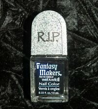Wet n Wild Fantasy Makers 'RIP Nail Polish' Spooky Nails, Nail in Coffin 3 pack!