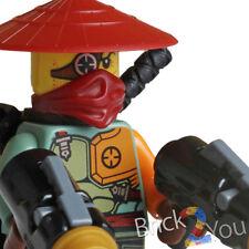 Lego Ninjago Ronin Minifigure w/ Weapons from 70735 Ronin R.E.X.