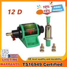 12V Universal Low Pressure 4PSI-7PSI Diesel Gasoline Electric Fuel Pump 3/8 inch
