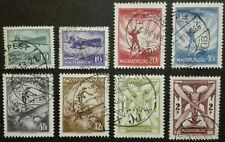 HUNGARY-WĘGRY-MAGYAR STAMPS - Airmail , 1933, used