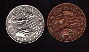 1966 Medallions - Introduction of Decimal Currency - Very Rare??