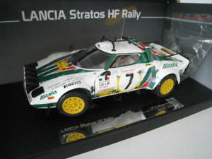 Lancia Stratos HF Rally  #7 Safari Rally 1977 Limitiert  Sun Star  1:18  OVP NEU