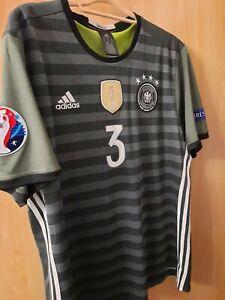 Deutschland DFB 2016 Trikot Herren Gr. XL adidas WM Away Weltmeister