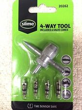Valve Core Tool, 4-Way Tool, 4 Valve Cores, Removes, Re-taps Inside & Out, Reams