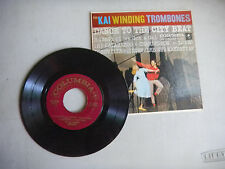 KAI WINDING TROMBONES dance to the city beat  4 SONG EP picture sleeve    45