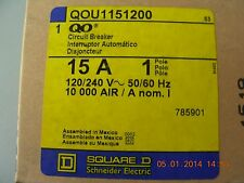 SQUARE D CIRCUIT BREAKER QOU11S1200