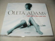 OLETA ADAMS - I JUST HAD TO HEAR YOUR VOICE - UK CD SINGLE