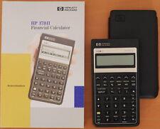 HP-17BII Finanzrechner der Pioneer-Serie mit Handbuch, Hülle, Batterien