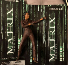 "2003 McFarlane Spawn The Matrix Reloaded Series 2 Niobe 6"" Action Figure Used"
