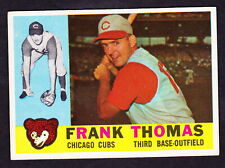 New listing 1960 TOPPS #95 FRANK THOMAS CHICAGO CUBS