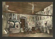 AD7719 Aosta - Provincia - Castello di Fenis - Cappella con affreschi