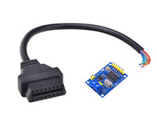 Female OBDII OBD2 Adapter Cable 16p + MCP2515 CAN Bus Transceiver Arduino Shield