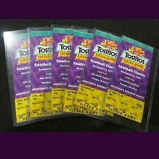 FIESTA BOWL 1997 - LOT OF 6 AUTHENTIC TICKET STUBS - PERFECT CONDITION