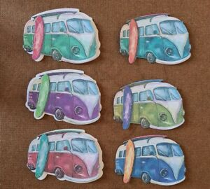 6 New Tattered Lace Campervan Die Cuts
