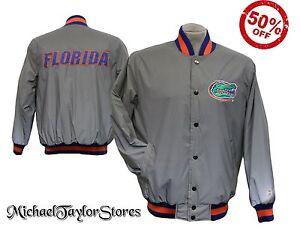 Florida Gators NCAA Hi-Vis Reflective Men's Snap Up Starter Jacket