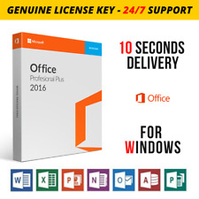 MICROSOFT OFFICE 2016 PROFESSIONAL PRO PLUS GENUINE PRODUCT KEY INSTANT DELIVERY