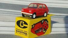 VINTAGE FIAT 126P ESTETYKA TOY CAR 1:43 MADE IN POLAND ORIGINAL BOX RARE RED