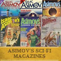 ASIMOV'S SCIENCE FICTION ~ Pulp Magazine 371 Rare Vintage Magazines ~ 1 Data DVD