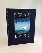 Swan Lake-Mark Helprin & Chris Van Allsburg-SIGNED!!-TRUE First/1st Edition-RARE