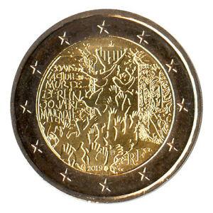 Sondermünzen Frankreich: 2 Euro Münze 2019 Mauerfall Sondermünze Gedenkmünze
