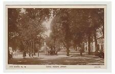Jersey postcard - Royal Parade, jersey - (A25)