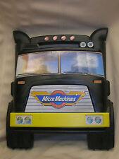 1988 Lewis Galoob Toys Inc Micro Machines Case & 18 Micro Machines Semi Truck