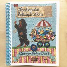 Carolyn Hedge Baird Needlepoint Stitchpirations stitch reference book canvaswork