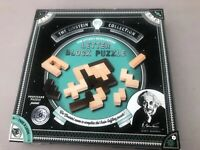 The Einstein Collection Wooden Letter Block Logic Puzzle Game 12 Challenges