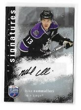MIKE CAMMALLERI 2007-08 BE A PLAYER SIGNATURES CERTIFIED AUTOGRAPH