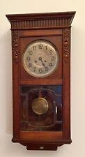 orologio a pendolo da parete in legno