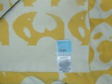 Orla Kiely Target Baby Blanket Lovey Security Yellow Elephant
