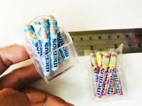 "MENTOS Mint Candy Packs FRIDGE MAGNET Novelty THAILAND Plastic Shelf 1.5/"" Tall"